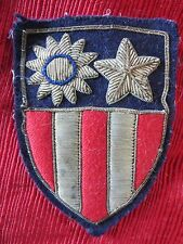 WWII US Military CBI Bullion Shoulder Patch China Burma India Theater Army