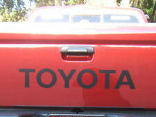 TOYOTA TAILGATE  Vinyl Decal Sticker Emblem Logo Graphic  BLACK 31""