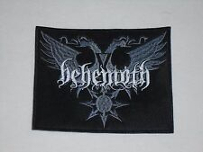 BEHEMOTH BLACK METAL EMBROIDERED PATCH