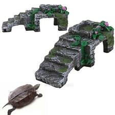 Turtle Reptile Platform Basking Ramp Tank Water Aquatic Aquarium Tank Decor New