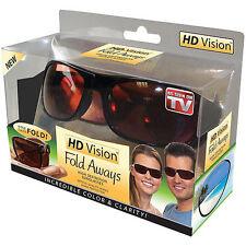 Hd vision fold cadeaux haute définition lunettes de soleil
