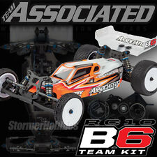 Team Associated RC10B6 Mid Motor 1/10th Scale Off-Road Buggy Team Kit ASC90011