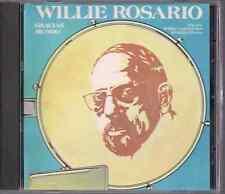 CD Mega RARE Fania FIRST PRESSING Willie Rosario GRACIAS MUNDO Bobby Concepcion