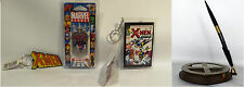 X-MEN : KEY RING, MAGNETO DOG TAG, PEN, MINIATURE COMIC KEY RING (TK)