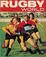 RUGBY WORLD MAGAZINE DECEMBER 1974 - PERFECT GIFT FOR A FAN BORN IN THIS MONTH