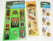 3 Disney Atlantis The Lost Empire & Treasure Planet Party Sticker Sheet Lot Set