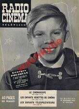 Radio cinéma n°205-206 du 27/12/1953 Poujouly Jeux Interdits Moulin-Rouge