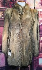 Women's  Vintage Coyote Fur Jacket/Coat Just Cleaned Made In Argentina