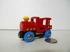 BRIO RED TRAIN STEAM ENGINE MADE IN SWEDEN ( Thomas Compatible ) - FREE SHIPPING