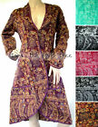 3Colour Fluffy COAT Smoking Jacket STEAMPUNK Boho VICTORIAN Hippy Manga S M L XL