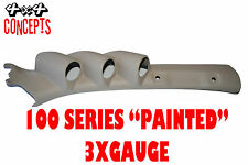 "to suit Toyota Landcruiser 100 series LHD TRIPLE PILLAR POD ""NEW""  PAINTED BEIGE"