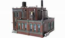 WOODLAND SCENICS BUILT & READY MORRISON DOOR FACTORY O SCALE BUILDING