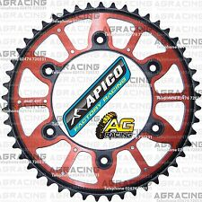 Apico Xtreme Red Black Rear Alloy Steel Sprocket 49T For Honda XR 400 1999