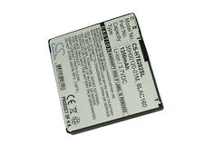3.7V battery for HTC BLAC160, Blackstone, Blackstone 100, BA S340, 35H00120-01M