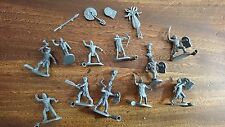 LOT AZTEC WARRIORS (CAESAR MINIATURES #028) FIGURINES 1/72 REF.D