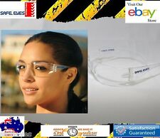 30x pairs Safety Glasses Clear lens bulk buy Safe Eyes Eye protection