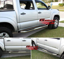 "3"" NerfBar Stainless Steel FOR 2005-2016 TOYOTA TACOMA DOUBLE CAB"