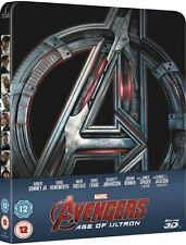 AVENGERS: AGE OF ULTRON  Zavvi 3D & 2D Blu-Ray Steelbook Ships In 24 Hours