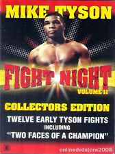 FIGHT NIGHT Vol. 11 (Mike TYSON) 12 Fights + Two Faces of a Champion Boxing DVD
