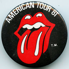 The Rolling Stones American Tour 81' PIN
