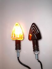 ►2X HALOGEN SCHWARZ MINI BLINKER DUCATI Monster S2R/Dark 1000,MTS 1000DS,600 SS