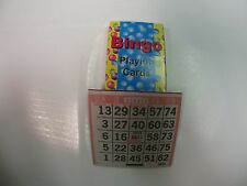 Deck of Bingo Playing Cards with 1000 paper bingo cards - Play Bingo at home!
