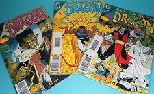 comic LA FUERZA DEL DRAGON miniserie 3 numeros