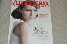AMERICAN SALON MAGAZINE JANUARY 2011 HIGH SOCIETY
