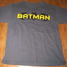 BATMAN angular logo variation Dark Knight lrg T shirt DC Comics sharp tee