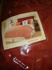 TOMMY BAHAMA~HOPETOWN~RED~ONE EURO PILLOW SHAM