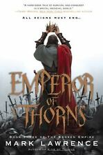Emperor of Thorns  by Mark Lawrence (2013, Hardcover) 1st edition New