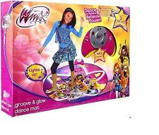 Winx Club Groove & Glow Dance Mat W/Built-In Songs: Believix Song The Theme Song