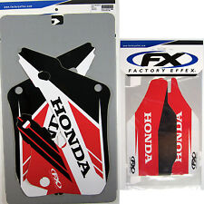 Factory Effex EVO 14 Graphics Forks Honda CR 250 CR250 97 98 99 Shrouds Air Box