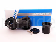 """2016 GIANT Contact SL OD2 Stem 60mm +/-8 degree Black 1-1/4"""" and 1-1/8"""" spacer"""