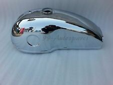 Benelli Mojave 260 360 Cafe Racer  Chrome Fuel Tank With Cap & Fuel  Taps
