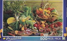 NEW Puzzlebug 500 Piece Puzzle - Fresh Fruits and Vegetables - FREE SHIPPING