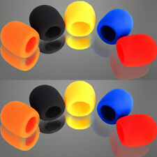10 X New Colorful Handheld Stage Microphone Windscreen Foam Mic Cover Sales