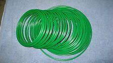 "1/4"" Pneumatic PoPolyethylene Tubing for Push to Connect Fittings Green PE0417-G"