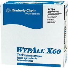 "20 Cases Wypall X60 Teri Wiper Paper Towels 9.1"" x 16.8"" 10 Boxes/Case KCC34790"