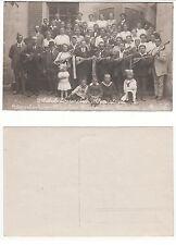 Bieberitz Niegripp, Musik Kapelle Mandolinen Club  Instrumente,music player 1918