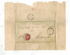 1867 Freienwalde Germany Letter Cover