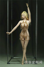 "1/6 Customize Golden Night Clothes Suit F 12"" Phicen Female Large Bust Figure"