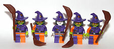 custom LEGO SCARE CROW + 4 HENCHMEN - all lego parts gotham city batman theme