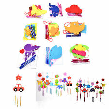 1 Pcs DIY Campanula Wind Chime Kids Manual Arts and Crafts Toys for Kids GG