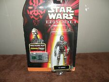 STAR WARS C-3PO FIGURE EPISODE 1 WITH COM TECH NEW ON CARD