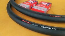 NEW Pair 700x25c VIPER Thick-slick Tires & Tubes Puncture-Resistant Casing 60TPI