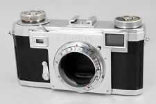 [NEAR MINT] Contax IIa 35mm Rangefinder Film Camera Body Only from Japan #437