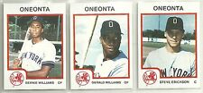 1987 Pro Cards Oneonta Yankees 33-card Minor League Team Set   Bernie Williams