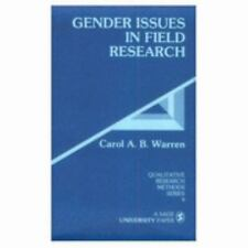Gender Issues in Field Research (Qualitative Research Methods)