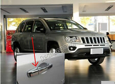 Door Handle Cover Trim for 2011-2015 JEEP Compass ABS Chrome Plated High Quality